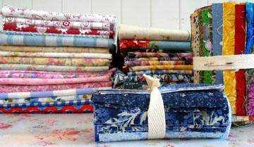 patchwork fabrics.